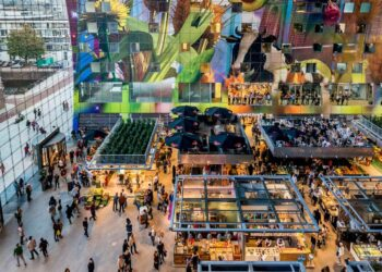 Ukrayna Yaşam Maliyeti 7 – Markthal Rotterdam 3