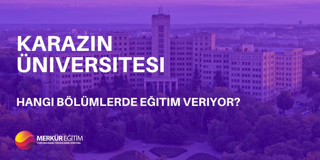 Karazin Üniversitesi Hangi Bölümlerde Eğitim Veriyor? 3 – Karazin Üniversitesi Kapak Görseli
